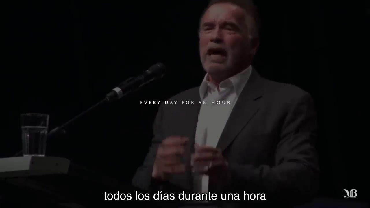 Discurso Motivador De Arnold Schwarzenegger 2018