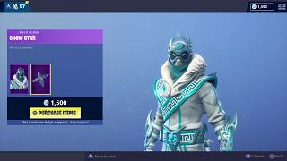 "Fortnite 'NEW' ""SNOWFOOT"" Peau! - (Magasin d'objets - 04/01/2019)"