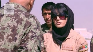 First Fixed-Wing Combat Sortie Flown by an Afghan Air Force Female Pilot thumbnail
