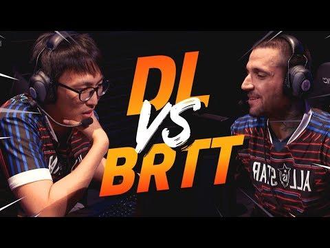 DOUBLELIFT VS BRTT   1v1 (ALLSTARS 2018)