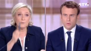 Последние предвыборные дебаты во Франции  закончились взаимными оскорблениями