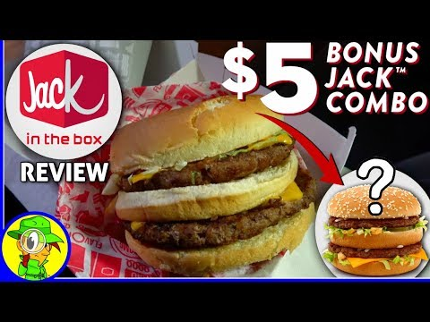 Jack In The Box® | Bonus Jack™ Combo Review! 🤡🍔💵