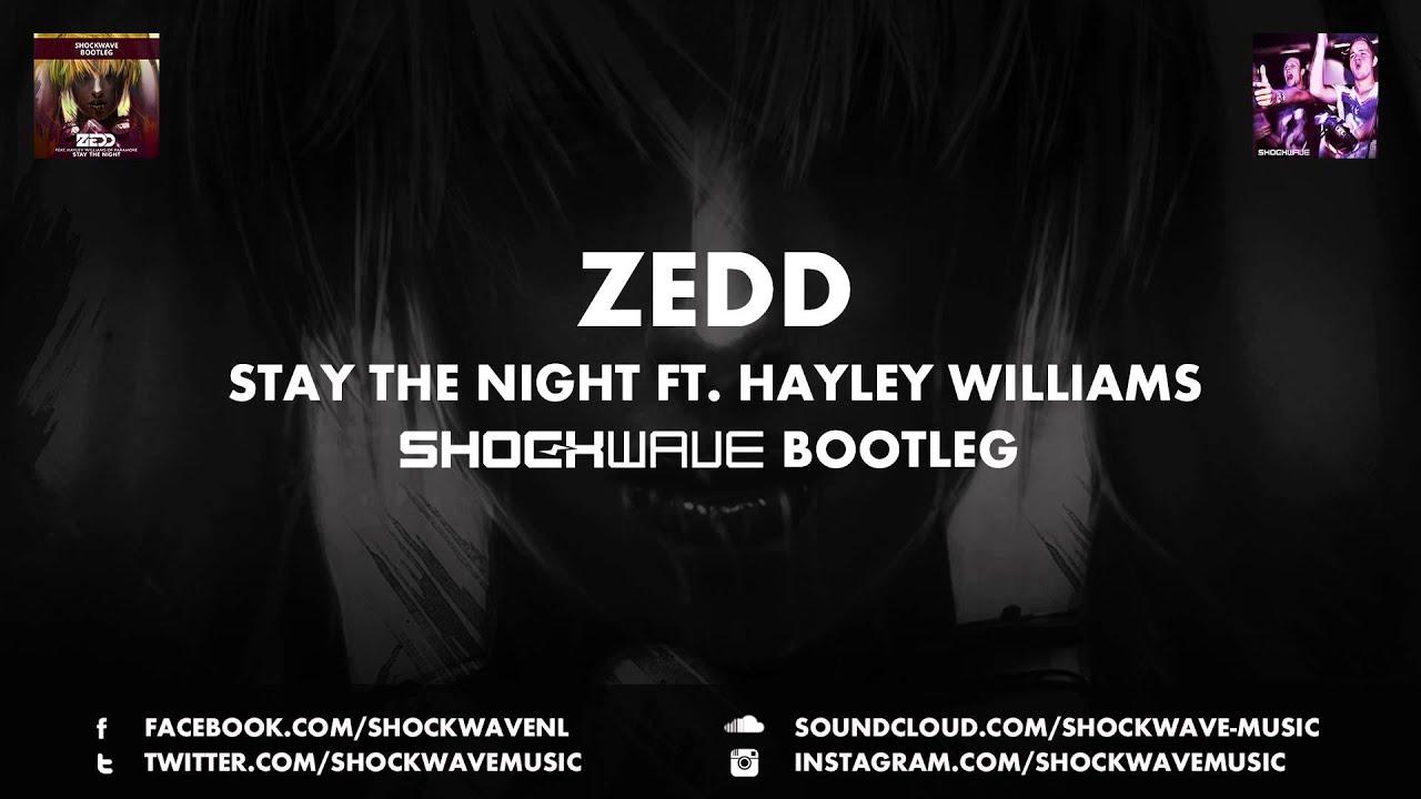 """Stay The Night"" - Zedd (feat. Hayley Williams) kopen ..."