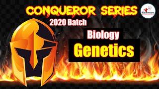 #Biomentors #NEET 2020: Conqueror Series Biology L - 3 on Important MCQs of Genetics