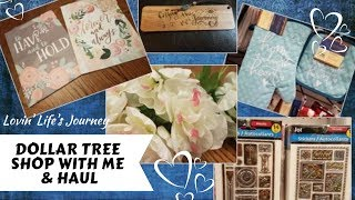 Unplanned Dollar Tree Shop With Me & Haul | Valentine, Spring & Easter