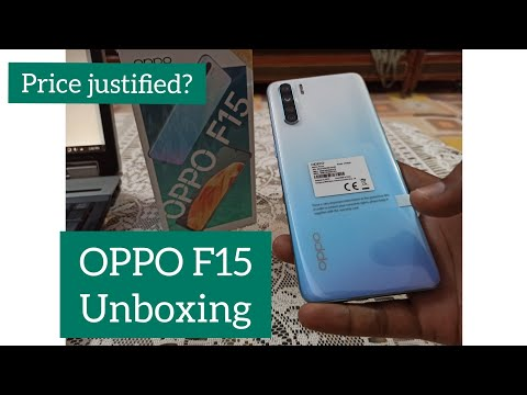 OPPO F15 Unboxing | Unicorn White Color | Price Justified?