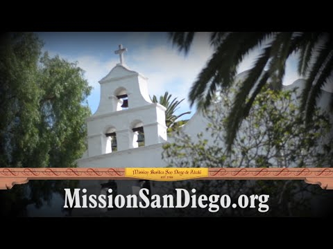 Mission Basilica San Diego de Alcala, Welcome to California's 1st Mission!