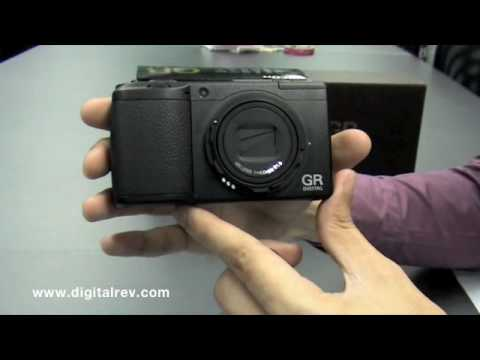 Ricoh GR Digital III - First Impression Video by DigitalRev