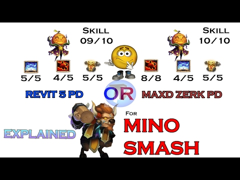 Castle Clash - Which PD Gives 2 PROCS In Less Hits | Maxd Zerk PD Or Revit 5 9/10 PD ?