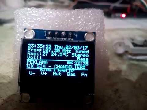 Прототип радио Rda5807