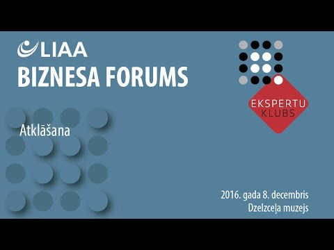 Biznesa forums 2016 | Ievadvārdi