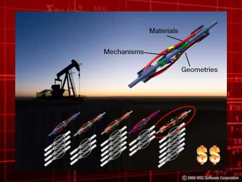 Virtual Prototyping of Centralizer Mechanisms used in the Oil and Gas Industry