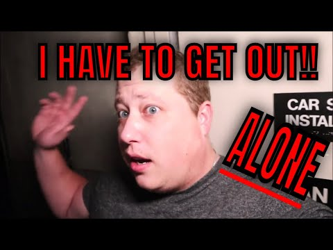 "(30 Min ALONE Challenge) ABANDONED CIRCUIT CITY, ROBS TURN, ""THE DEVIL HIMSELF SHOWS UP"""