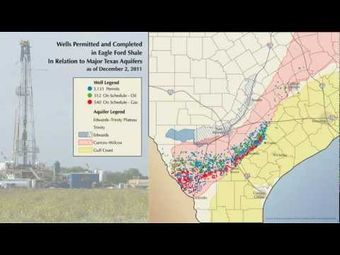 Wells in the Eagle Ford Shale