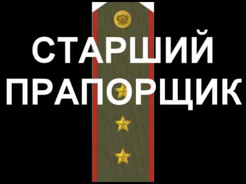 Погоны и звания РФ