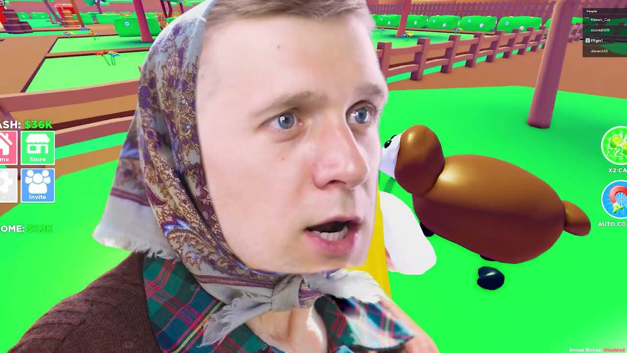 КУПИЛ ЗЕМЛЮ и ОТКРЫЛ Собственную ФЕРМУ! ROBLOX от FFGTV