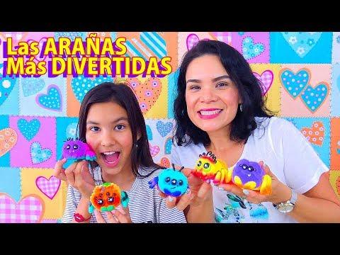 Estos YELLIES Son ARAÑAS De JUGUETE  | AnaNana Toys