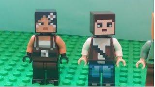 레고 마인크래프트 9화 -새 친구 로이와레나-마이핀포