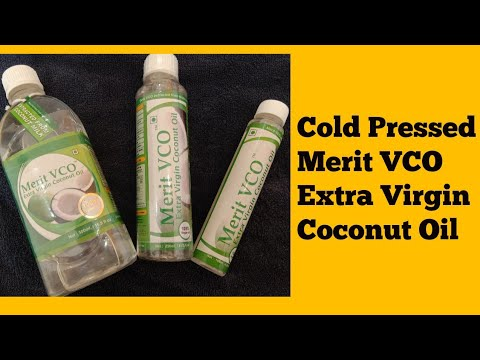 Cold Pressed Merit VCO Extra Virgin Coconut Oil Full Review + Beauty Benefits + Health Benefits