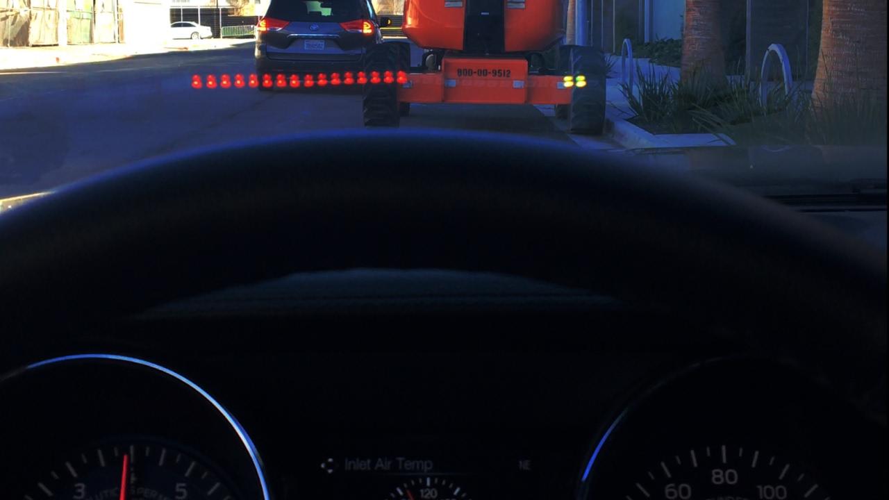 DIY Mustang HUD Shift Light