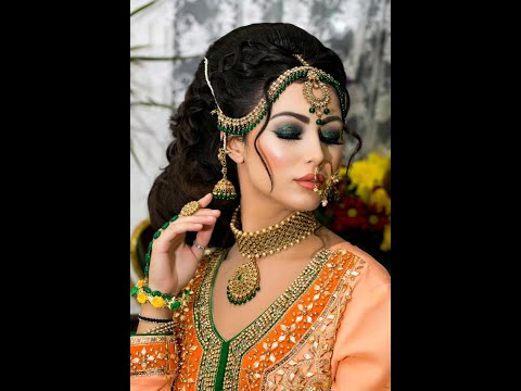 Modern Walima Bridal Look