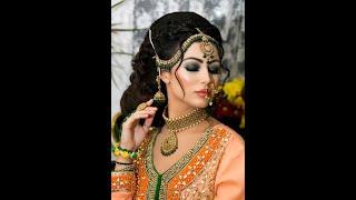 Modern Walima Bridal Look