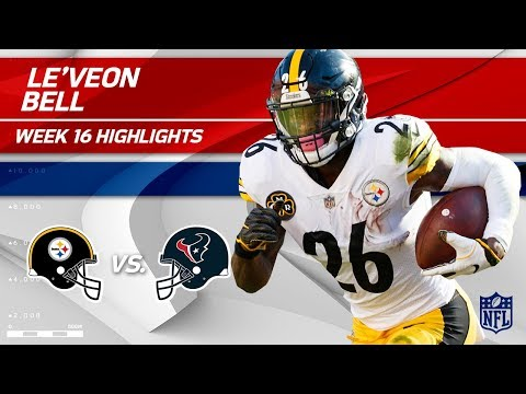Le'Veon Has Pittsburgh Singing Jingle Bells vs. Houston 🔔 | Steelers vs. Texans | Wk 16 Player HLs