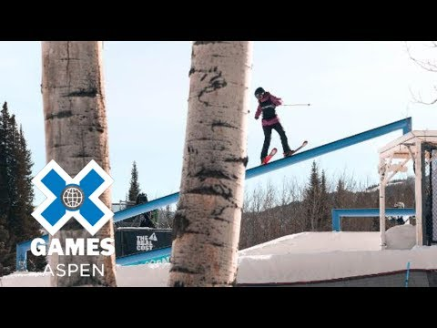 Freeskiing top moments at X Games Aspen 2018