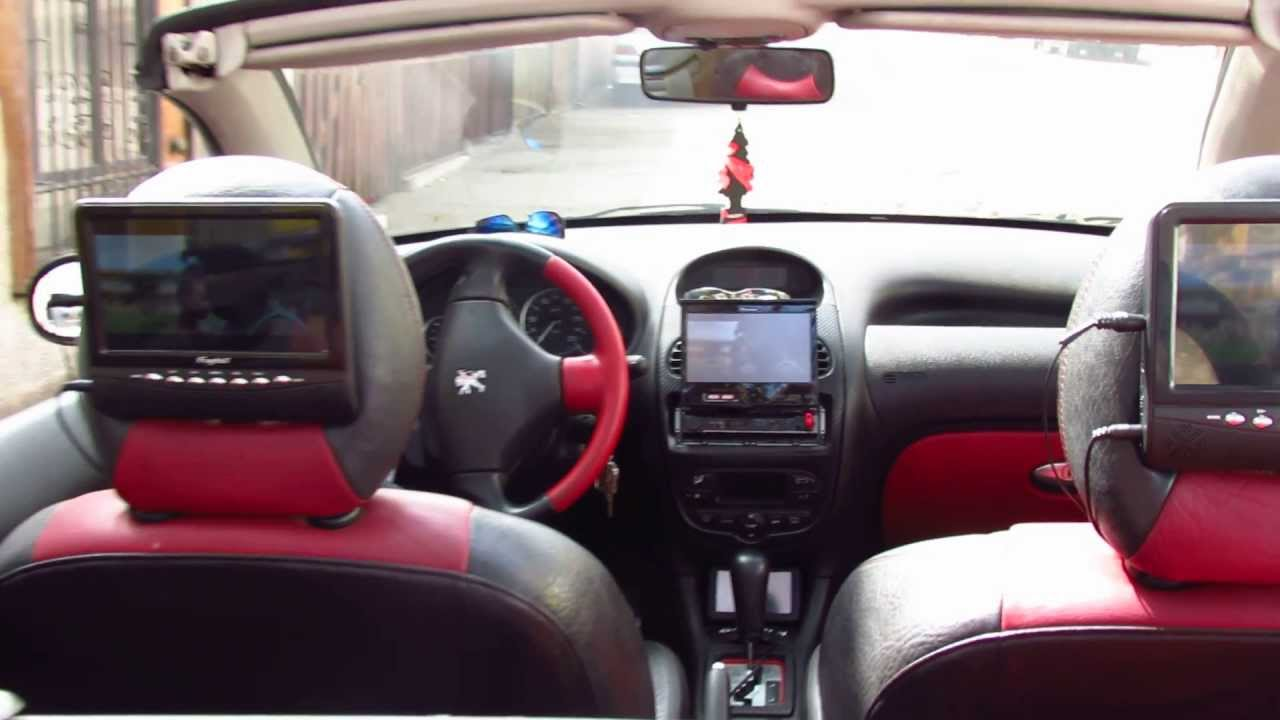 Interior 206CC (Black Edition) [FULL HD] - YouTube