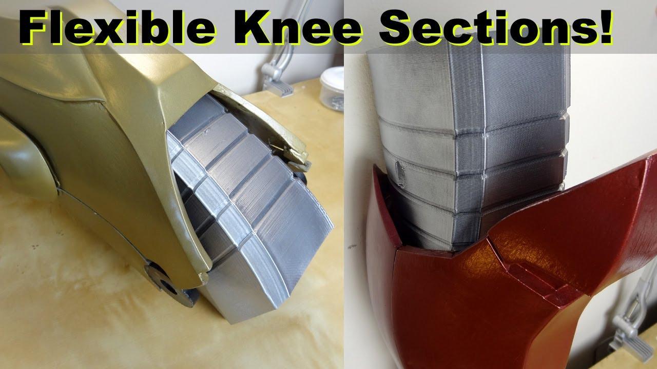 Iron Man Power Suit #57 | Flexible Knees | James Bruton