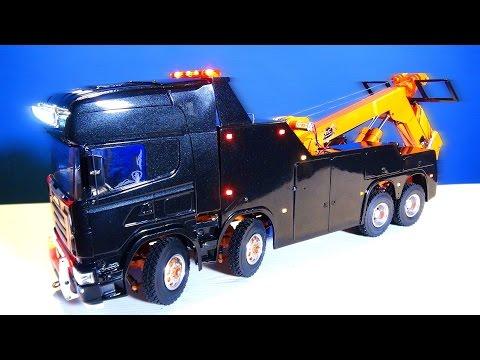RC ADVENTURES - Unveiling: SCANiA R560 Wrecker Tow Truck, Scandinavian Style 8x8