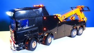 RC ADVENTURES - Unveiling: SCANiA R560 Wrecker Tow Truck, Scandinavian Style 8x8