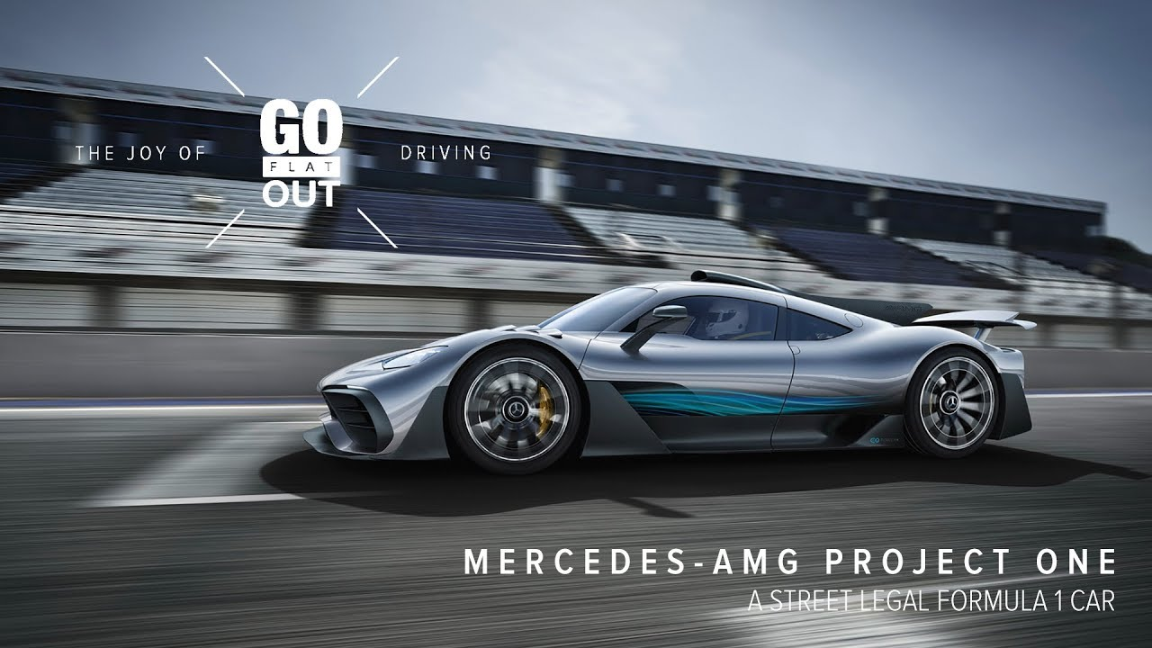 The Mercedes Amg Project One Is A Street Legal F1 Car