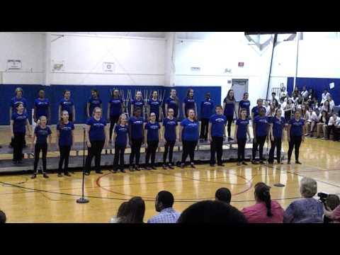 Martinsburg North Middle School Show Choir -Revolting Children - Matilda