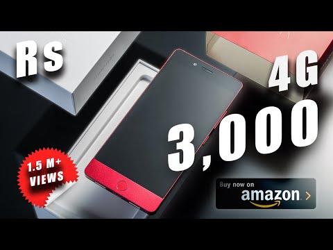 🔥🔥Top 5 4G Smartphones Only ₹ 3000