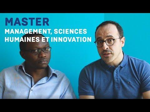 Spécialisation Management, Sciences Humaines et Innovation