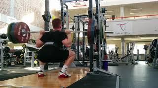 squat HB 4x145 w/ belt