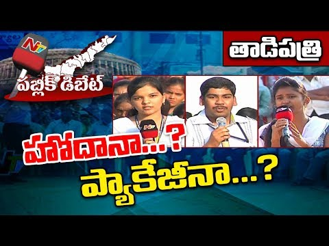 Public Debate: Does AP Need Special Status or Special Package..? || Tadipatri || NTV Exclusive