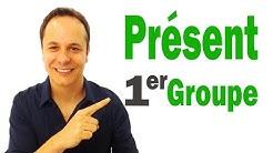 Conjugaison Française : Présent de l'indicatif 1er Groupe