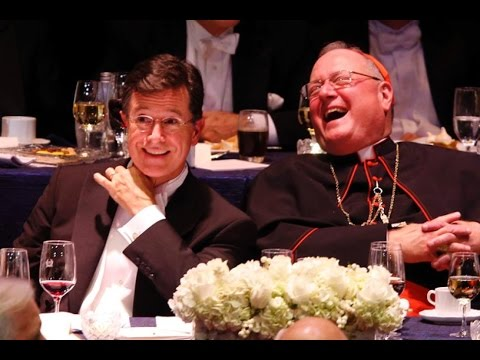 Stephen Colbert Doesn't Spare Politicians at Al Smith Dinner