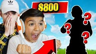 Surprising My Brothers With The Most Expensive Fortnite Skin! (CRAZY)
