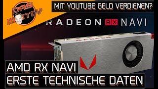 AMD Radeon RX Navi - Erste technische Daten   KDT mit Youtube Geld verdienen?   DasMonty - Deutsch