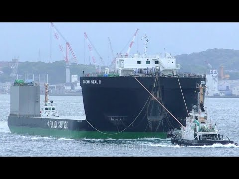 OSEAN SEAL II - FUKADA SALVAGE & MARINE WORKS deck barge