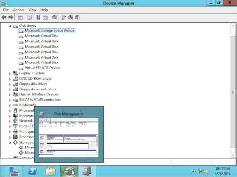 What's New in Windows Server 2012, Episode 12: Storage Spaces and.. Space Ports?!??!!?