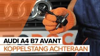 Ruitenwisser Mechaniek vóór links rechts monteren AUDI A4 Avant (8ED, B7): gratis video