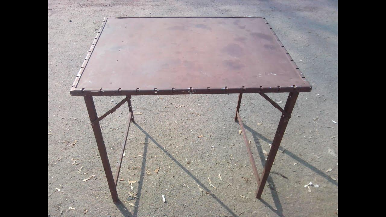 Как сделать походный стол фото 498