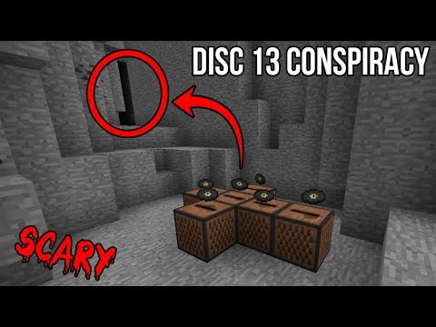 I played Disc 13 and Disc 11 at the same time in Minecraft... This is what happened next (SCARY)