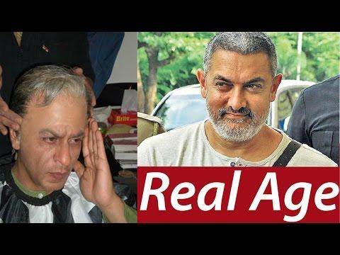 Real Age Of Top Bollywood Actors 2017 Celebrities Like Salman, Aamir, Shahrukh Khan, Akshay Kumar