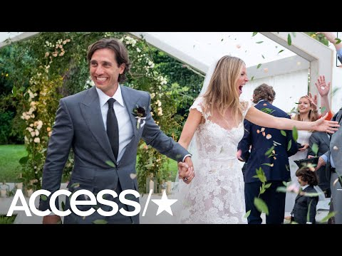 Gwyneth Paltrow Shares Stunning Photos From Her Wedding: See Her Gorgeous Dress!  Access