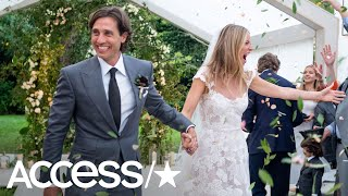 Gwyneth Paltrow Shares Stunning Photos From Her Wedding: See Her Gorgeous Dress! | Access